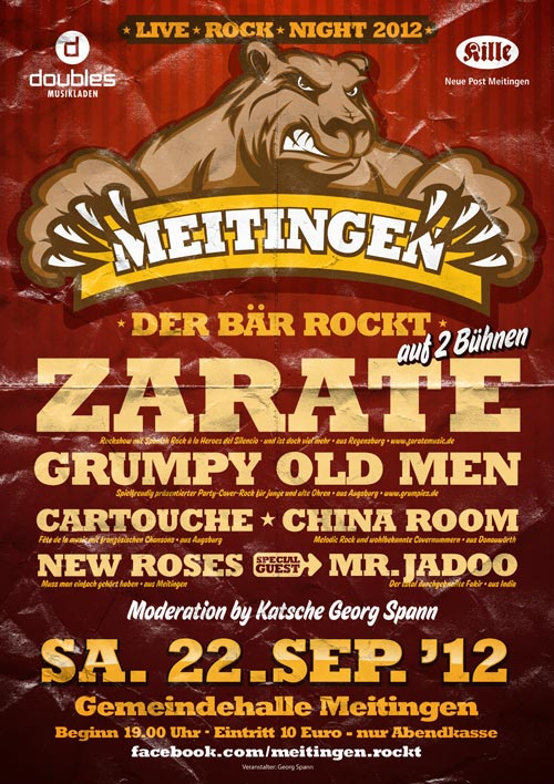 "Grumpy Old Men Band 2012 bei ""Meitingen rockt"""